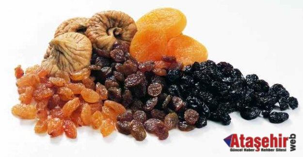 Uzakdoğuluların tercihi Türk kuru meyveleri