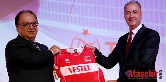 Vestel iki yıl daha Türk voleybolunun ana sponsoru