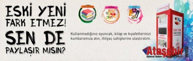 Ataşehir'de Sosyal Kumbaralar yardımlarınızı bekliyor