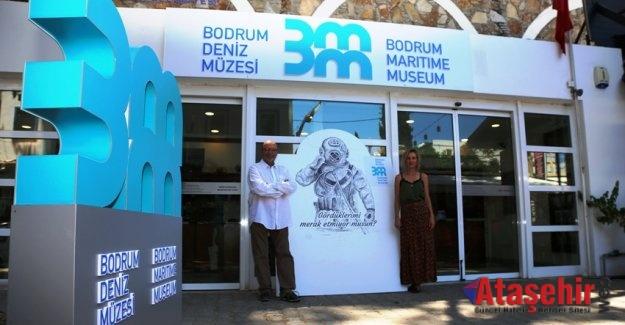Bodrum Deniz Müzesi'ne Serdar Benli imzası!