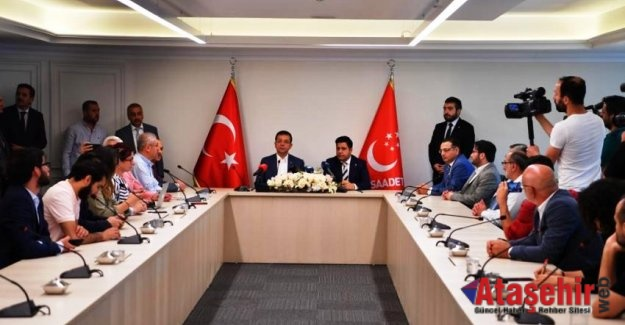 İMAMOĞLU ''BU GÖRÜŞMELER İSTANBUL'UN LEHİNE OLACAKTIR''