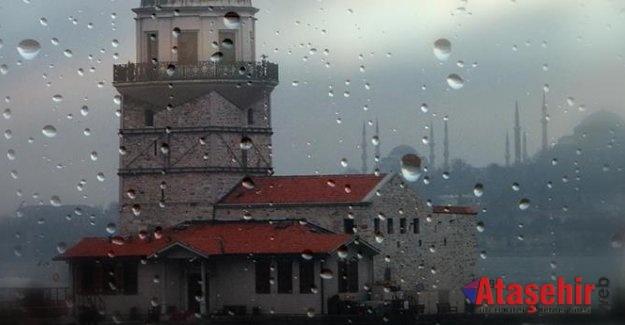 İSTANBUL'DA  KUVVETLİ YAĞIŞ GEÇİŞLERİ BEKLENİYOR