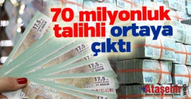 Milli Piyango'nun 70 milyonluk talihli ortaya çıktı