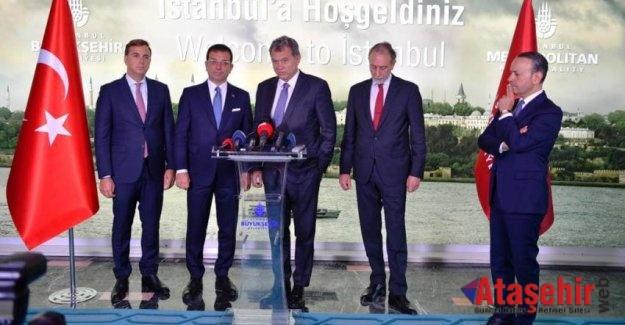 TÜSİAD'dan İmamoğlu'na tebrik ziyareti