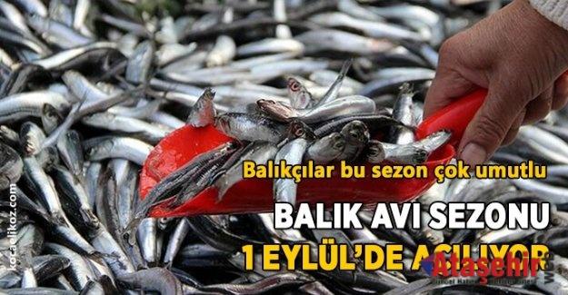 BALIK AVI SEZONU BAŞLIYOR
