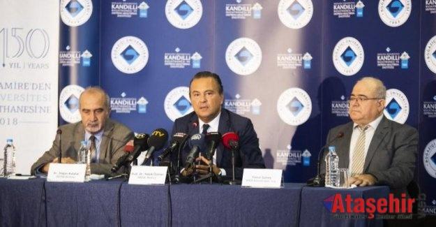 Kandilli Rasathanesi Deprem Bilgilendirme toplantısı düzenledi