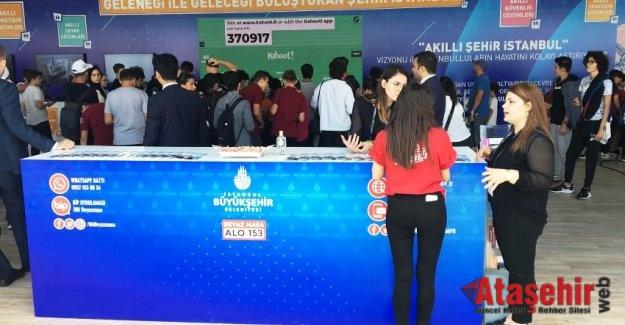 """İBB'NİN """"AKILLI ŞEHİR"""" PROJELERİ TEKNOFEST 2019'DA"""