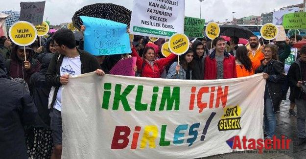 Türkiye ve tüm dünya haykırdı: İklim için birleş!