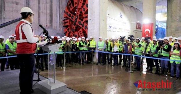 Ümraniye-Ataşehir-Göztepe metrosunun 2022'de bitmesi hedefleniyor.