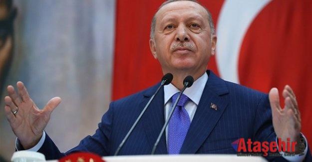 Cumhurbaşkanı Erdoğan: Bölge teröristlerden temizlenmezse bütün temizliği biz yapacağız