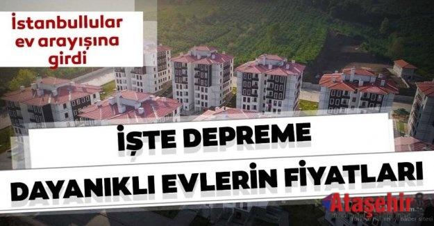 Deprem sonrası İstanbul'da ev fiyatları ne oldu