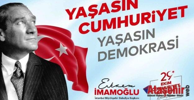 İSTANBUL'DA CUMHURİYETE LAYIK KUTLAMA YAPILACAK