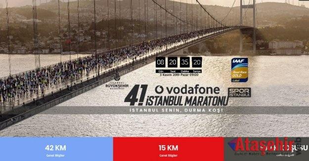 VODAFONE 41. İSTANBUL MARATONU HALK KOŞUSU KAYITLARI BAŞLADI