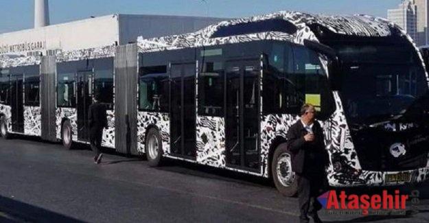Yeni metrobüsler test sürüşüne başladı