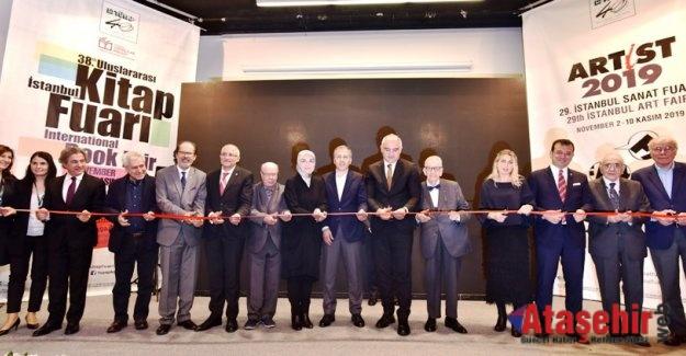 TÜYAP İstanbul Kitap ve Sanat Fuarları Açıldı