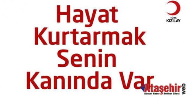 Ak Parti Ataşehir Kan Bğışı Kampanyası Düzenliyor