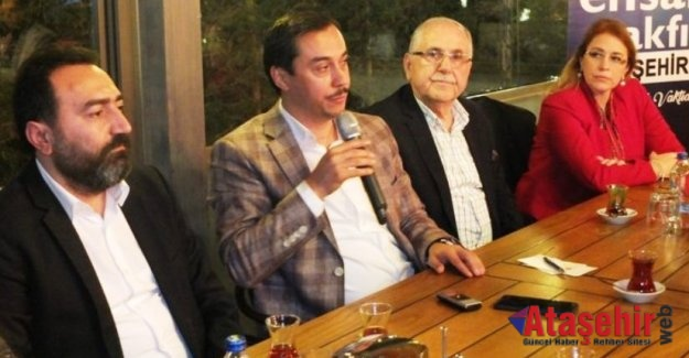 Ensar Vakfı 'Gönül Sohbetleri'nin' konukları Ataşehir Basını oldu