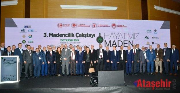 III. Maden Çalıştayı İzmir'de Gerçekleşti