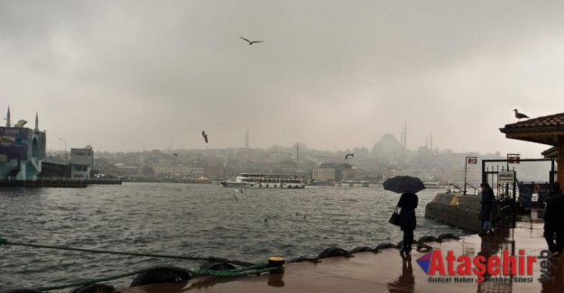 """İSTANBUL'DA YAĞIŞ BİTİYOR, """"PASTIRMA YAZI"""" GELİYOR"""
