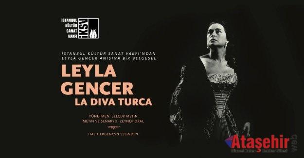 "LEYLA GENCER BELGESELİ ""LA DİVA TURCA"" SÜREYYA OPERASI'NDA"