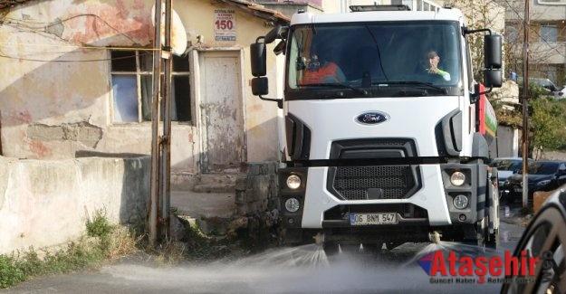 Maltepe'de temizlik seferberliği