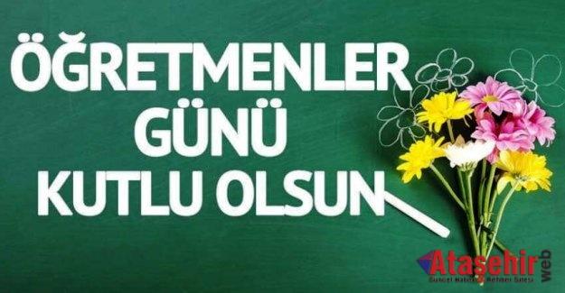 Tüm öğretmenlerimizin Öğretmenler Günü kutlu olsun!