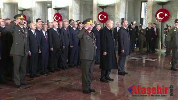 Türkiye Ata'sını Andı