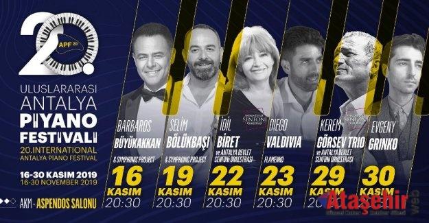 ULUSLARARASI ANTALYA PİYANO FESTİVALİ BAŞLIYOR!