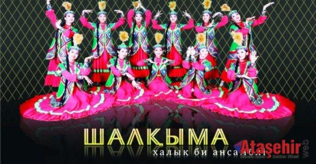 CRR'DE KAZAKİSTAN'IN BAĞIMSIZLIĞINA ÖZEL SANAT GÖSTERİSİ