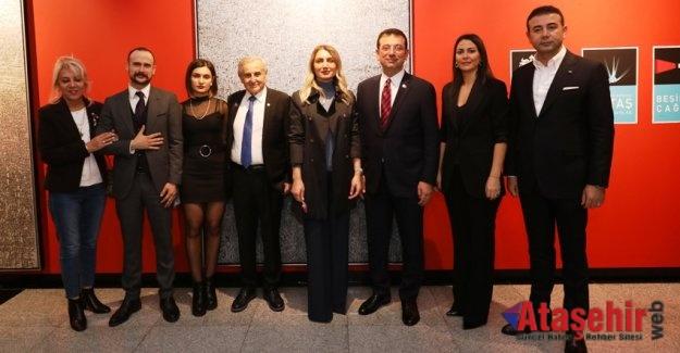 """İMAMOĞLU'NDAN DUAYEN SANATÇI ERBİL'E """"ÇILGIN PROJE"""" TEŞEKKÜRÜ"""