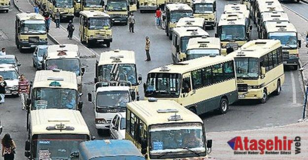 İstanbul'da minibüs ücretlerine zam geldi