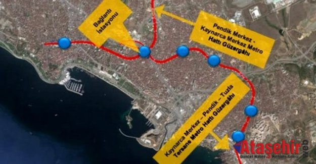 Kaynarca-Tuzla-Pendik metro hattının yapımına başlanıyor