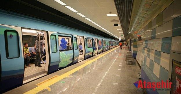 İstanbul'da yeni metro hattı hizmete açıldı.