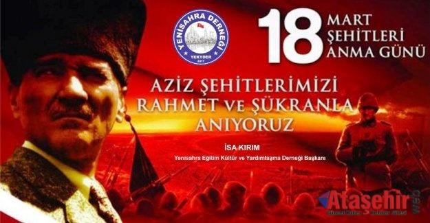18 Mart Çanakkale Zaferinin 105. Yılı Kutlu Olsun.