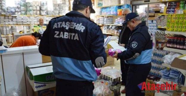 Ataşehir Zabıta ekipleri denetimlerine hız verdi
