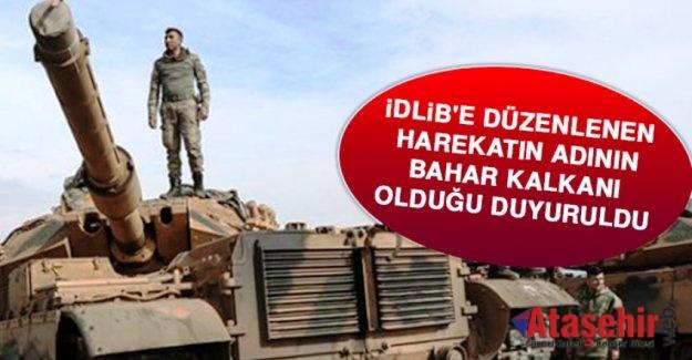 """""""BAHAR KALKANI"""" HAREKATI BAŞLADI"""