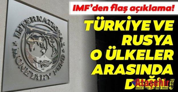 IMF, Türkiye ve Rusya yardım isteyen ülkeler arasında değil