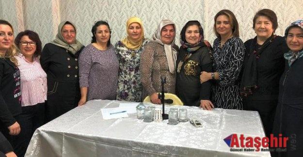 Yıldızören Köyü Kadın Kolları Başkanı Afife GÜR güven tazeledi.