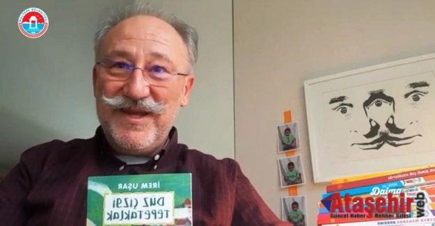 """Okuma Saati""""nde Altan Erkekli, çocuklar için kitap okudu"""