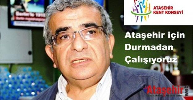 Turan Dolu; Ataşehir için durmadan çalışıyoruz