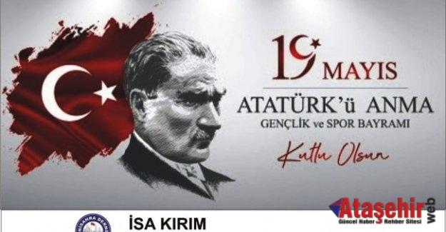 """19 Mayıs ATATÜRK'ü Anma,Gençlik ve Spor Bayramımız kutlu olsun."""""""