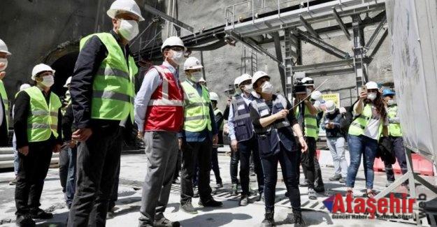 Ekrem İmamoğlu, Battal İlgezdi; Ataşehir'de Metro Çalışmasını inçeledi