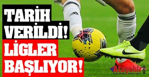TFF Başkanı Özdemir: Ligler 12 Haziran'da başlıyor