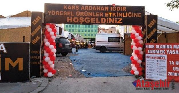Ataşehir'de Kars- Ardahan-Iğdır Kültür ve Etkinlikleri fuarı yapıldı