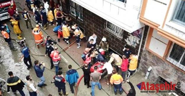 İstanbul'da Selde bir kişi hayatını kaybetti