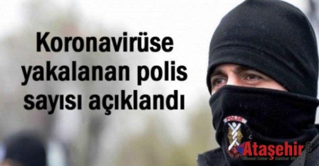 İstanbul'da 703 polis koronaya yakalandı