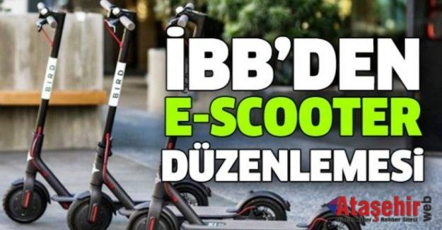 İBB'DEN, ELEKTRİKLİ KAYKAY (E-SCOOTER) KİRALAMA SİSTEMLERİNE DÜZENLEME
