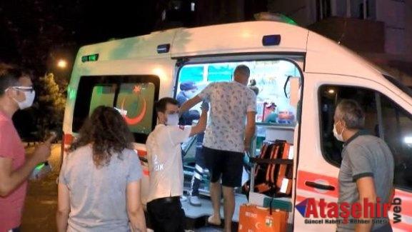 Ataşehir'de dumandan etkilenen 12 kişi hastaneye kaldırıldı
