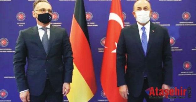 Bakan Çavuşoğlu ile Almanya Dışişleri Bakanı'ndan ortak açıklama