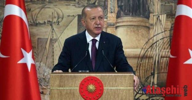 Cumhurbaşkan Recep Tayyip Erdoğan Doğalgaz Müjdesini Verdi